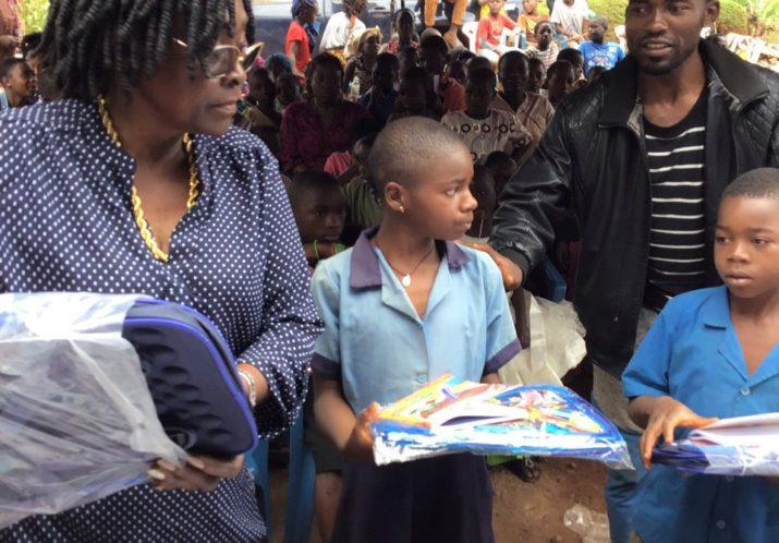 Distribution de fournitures scolaires le 24.08.2019